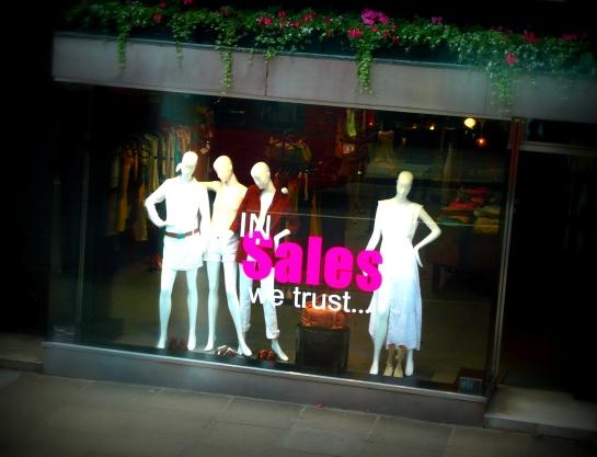 in sale we trust
