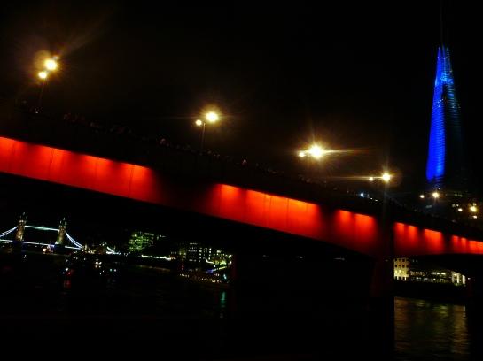 laser show shard london