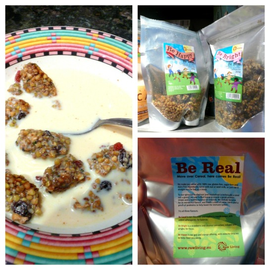 rohes Müsli, raw muesli, be real