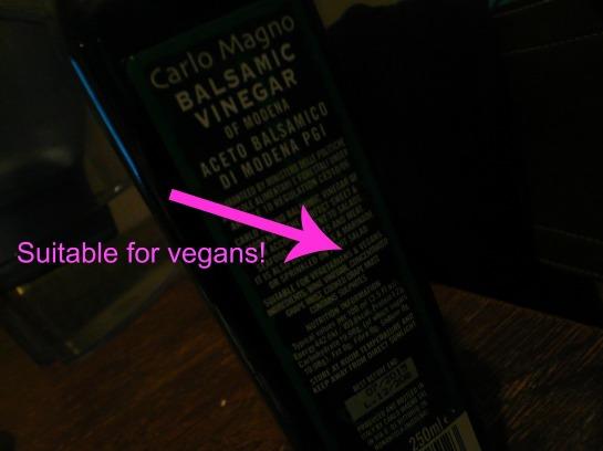 veganer balsamico essig
