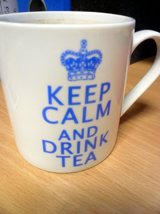 keep calm tasse