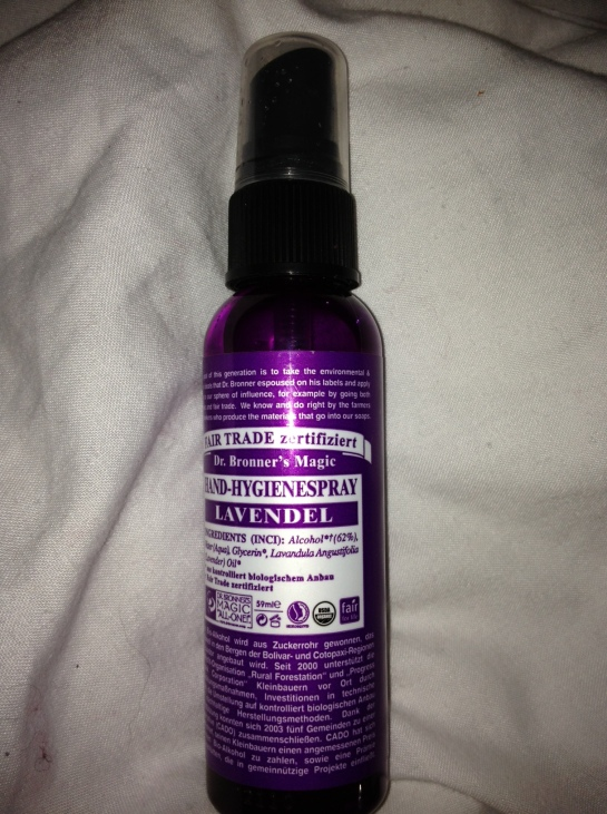 dr bronner hand hygiene spray