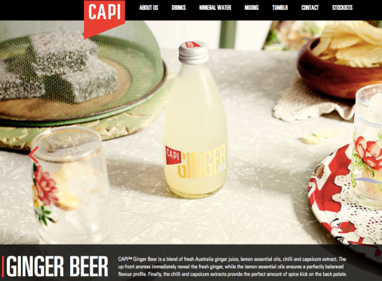 Capi Ginger Beer